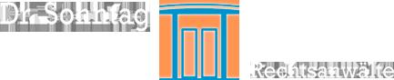 Dr. Sonntag Rechtsanwälte - Logo